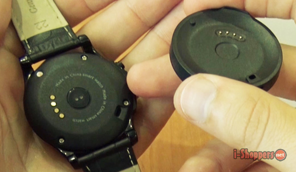 как заряжать смарт часы