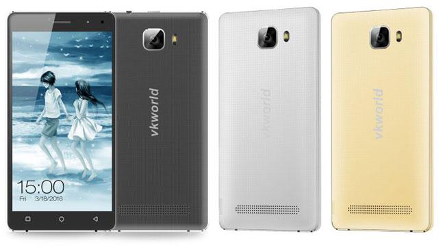 Vkworld T3 предварительный обзор смартфона