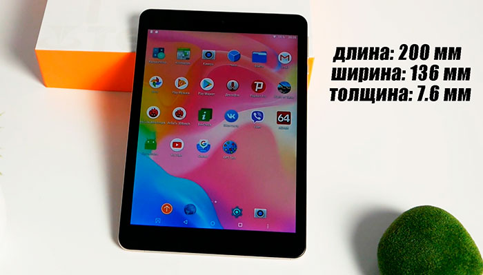 Teclast M89 Pro отзыв о планшете