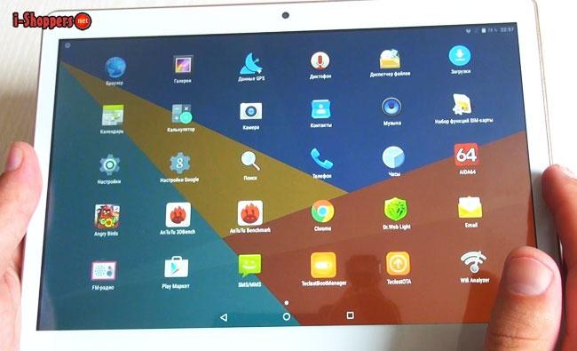 3G планшет на Android 5.1