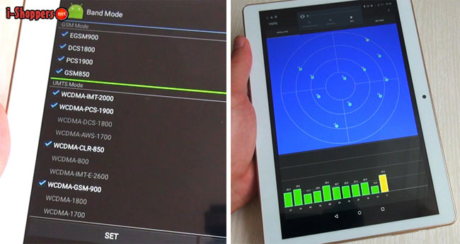 работа GPS на планшете