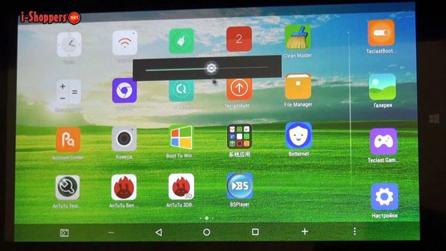 android 5.1 на планшете