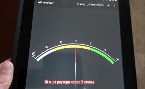 тест приемника WiFi