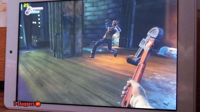 тест игры Bioshock на планшете