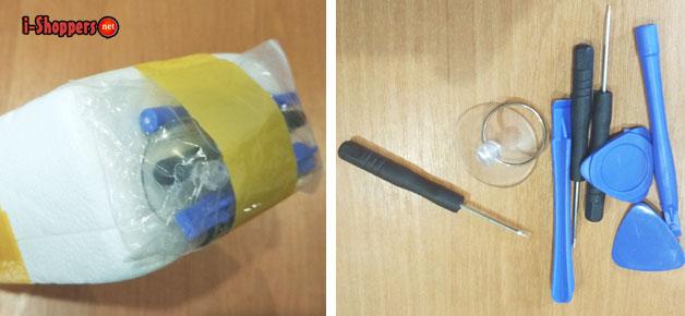 инструменты для замены тача (сенсорного экрана)