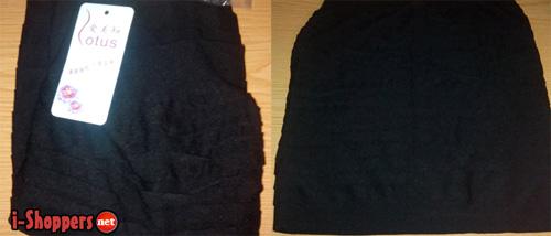 недорогая юбка и топ с Aliexpress