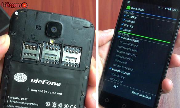 диапазоны 2G и 3G