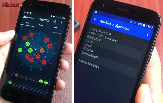 GPS на Ulefone U007