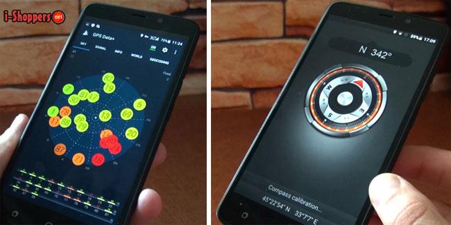 ulefone vienna тест GPS и компас