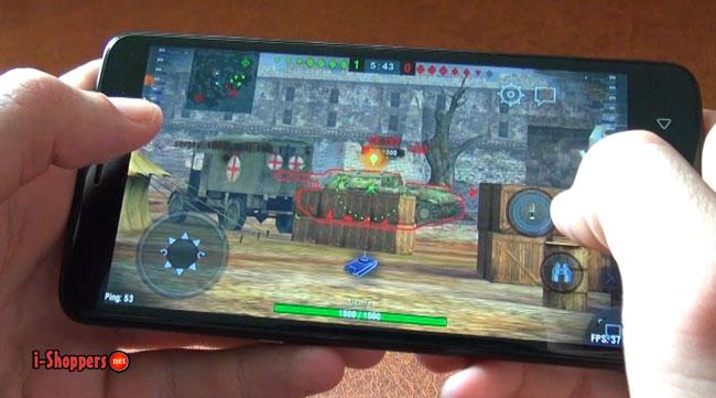 Ulefone Vienna gameTest