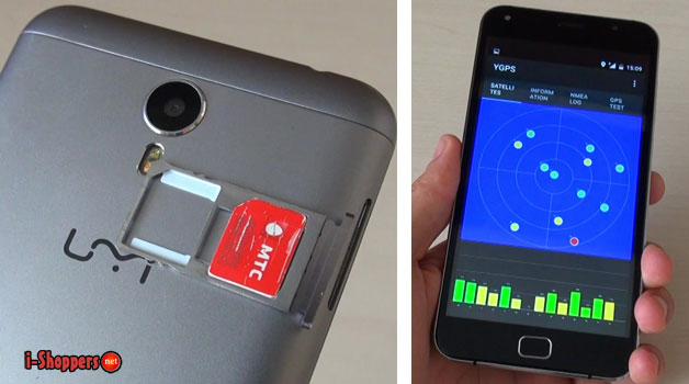 тест GPS Umi Touch X