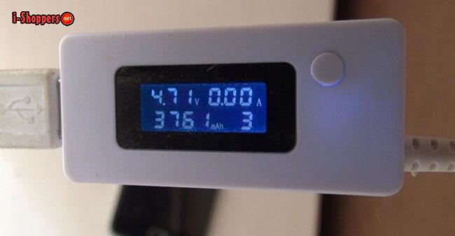 тест ёмкости батареи UMI Touch X