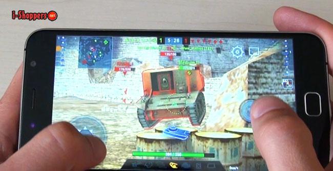 геймтест UMI Touch X WOT Blitz