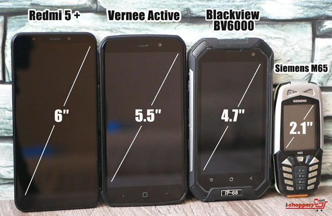 Vernee Active VS BV6000 VS Redmi 5 plus