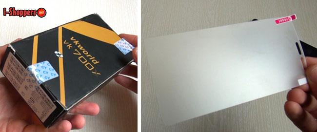 коробка из тонкого картона