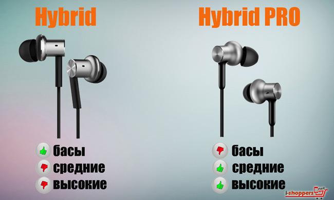 xiaomi hybrid pro VS Xiaomi Hybrid какие лучше