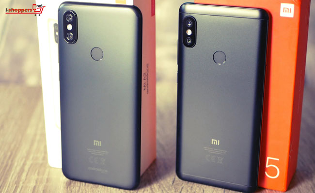 сравнение Mi A2 и Redmi Note 5