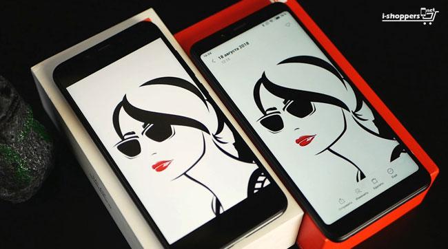 сравнение экранов Mi A2 и Redmi Note 5