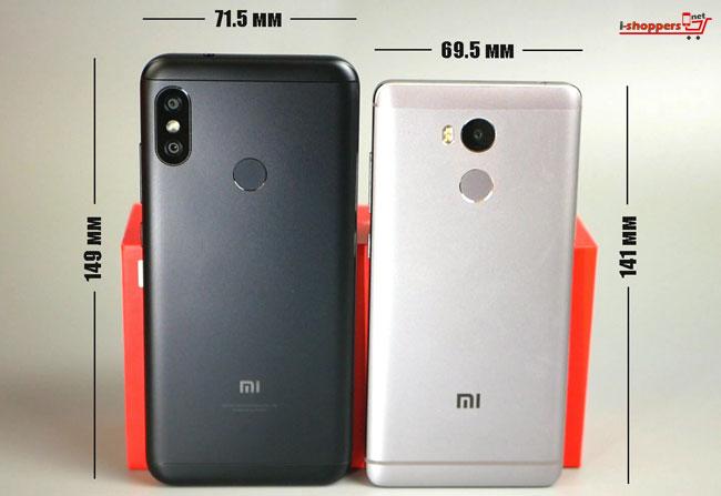 сравнение Redmi 6 pro и Redmi 4 Pro