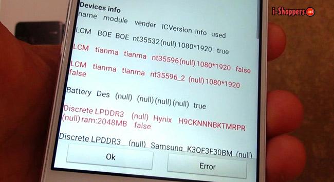 экран Boe в смартфоне Xiaomi