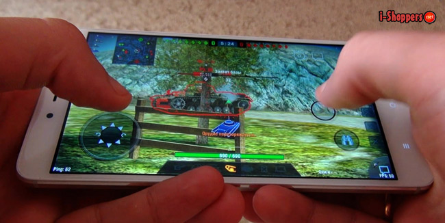 Game Test WOT Blitz Redmi Note 4