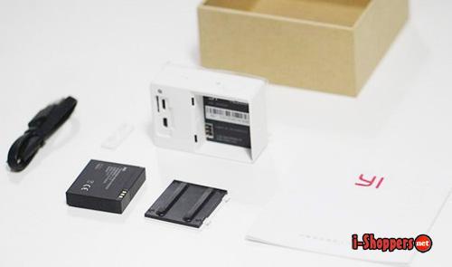 комплект поставки Xiaomi Yi